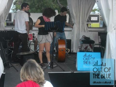 Jazz na Praça Leya, na Feira do Livro de Lisboa - Abril/Maio de 2011